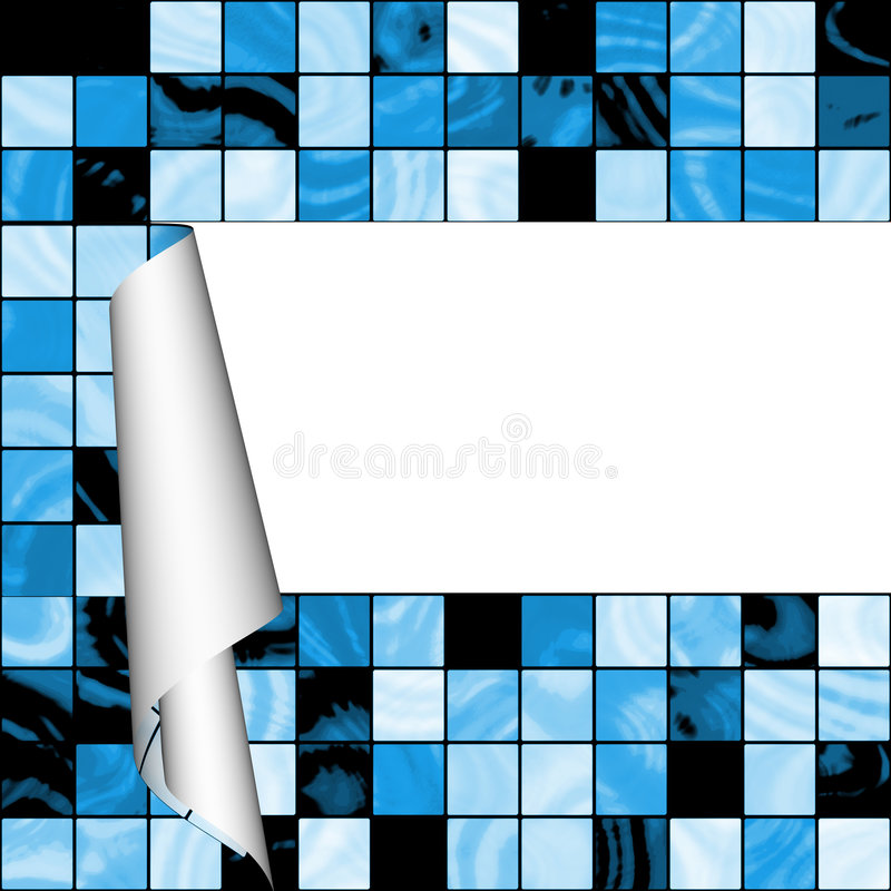 Download Mosaic Texture With Empty Space Stock Illustration - Illustration: 7859916