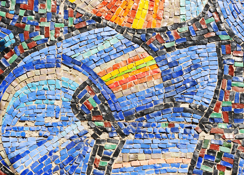 Download Mosaic texture on wall stock photo. Image of ornate, dirty - 19569724
