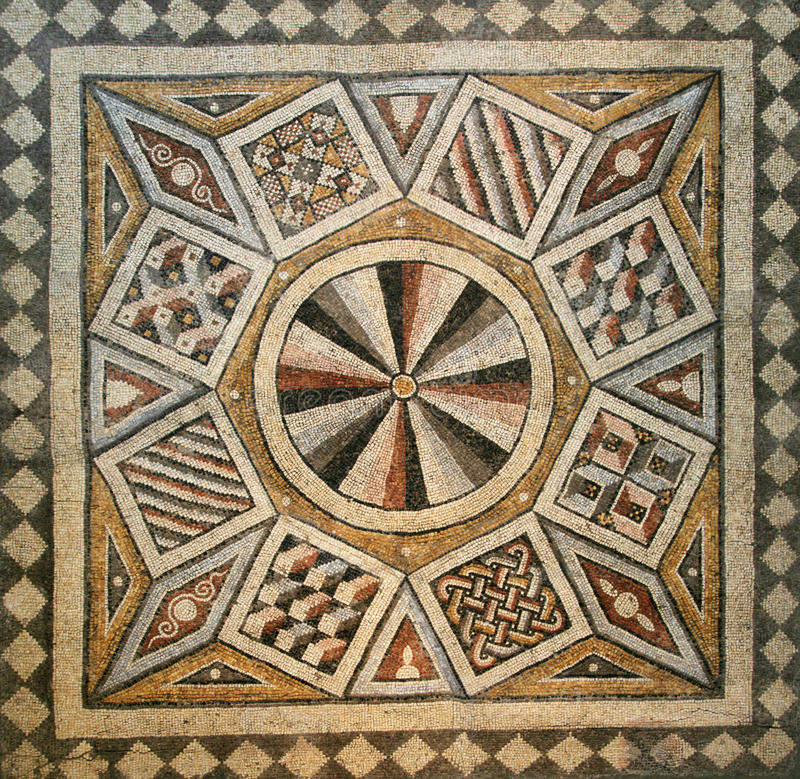 Download Mosaic tile floor stock image. Image of textures, historical - 21039827