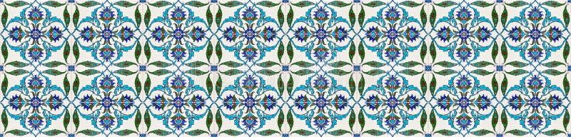 Mosaic tile pattern. Islamic motif royalty free stock image