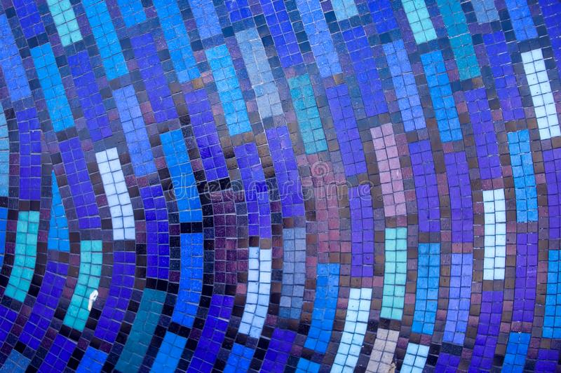 Mosaic tiles of Colorful abstract for background royalty free stock images