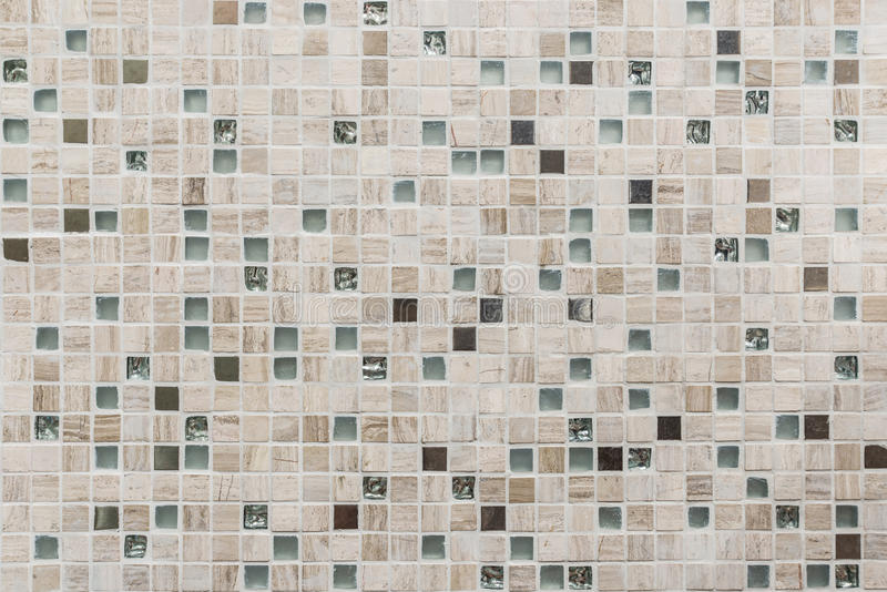 Mosaic tiles texture background royalty free stock photos