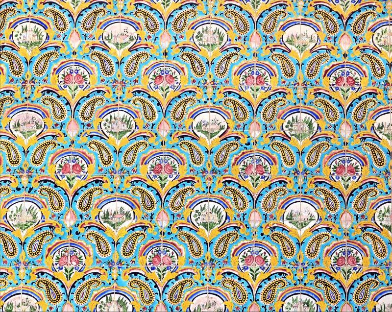 Download Mosaic wall stock image. Image of beautiful, mosaic, ornament - 28731135