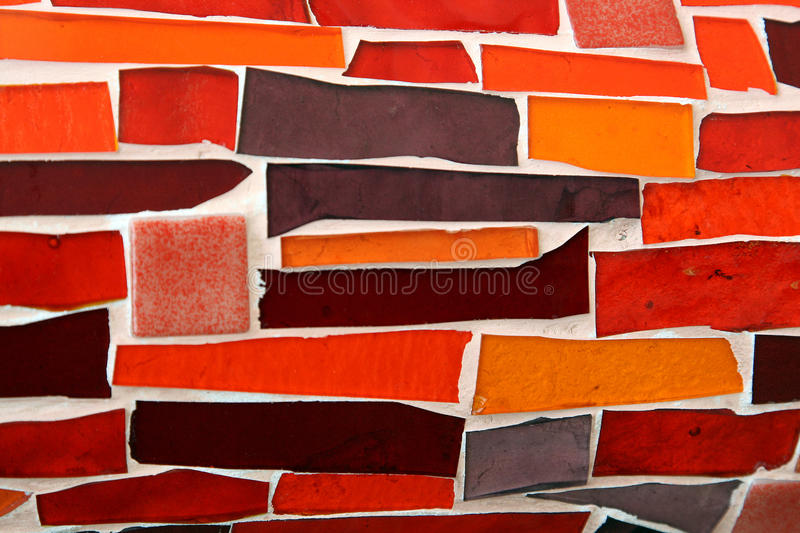 Mosaic wall background royalty free stock photos