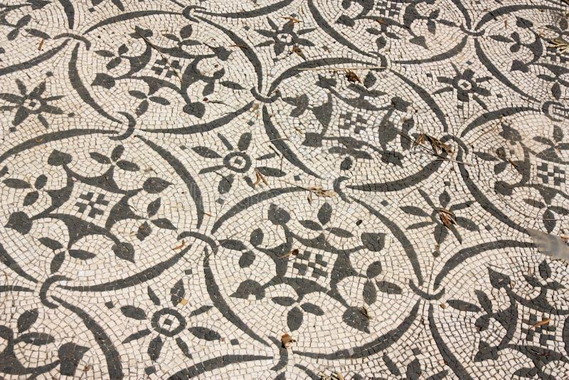 Mosaici romani in Italia fotografie stock libere da diritti
