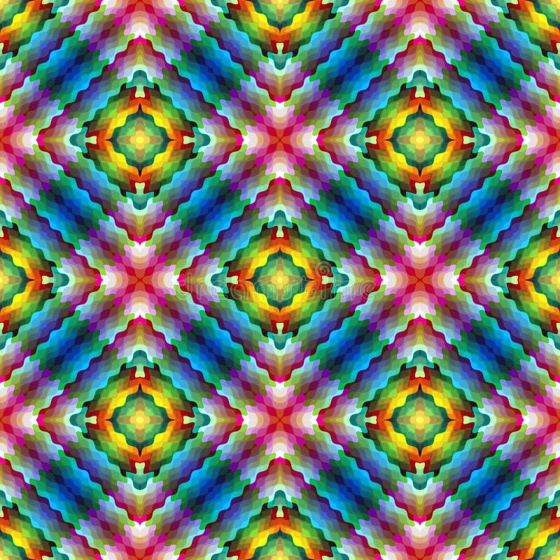 Mosaico ilustración del vector