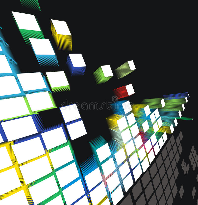 mosaico 3d libre illustration