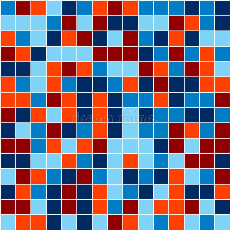 Mosaico ilustração do vetor