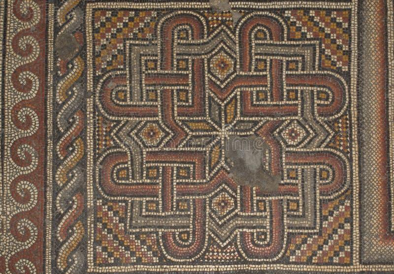 Mosaico antiguo imagen de archivo