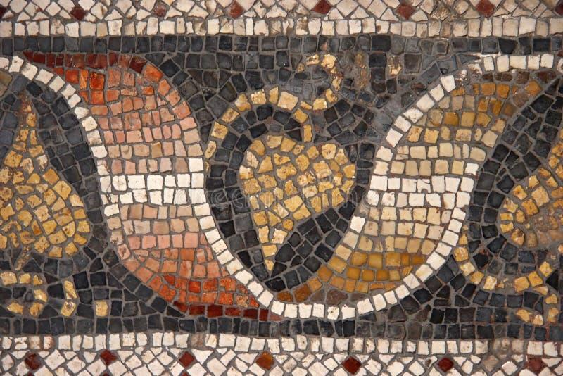 Mosaico bizantino imagens de stock royalty free