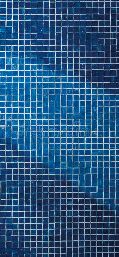 Mosaico blu fotografie stock