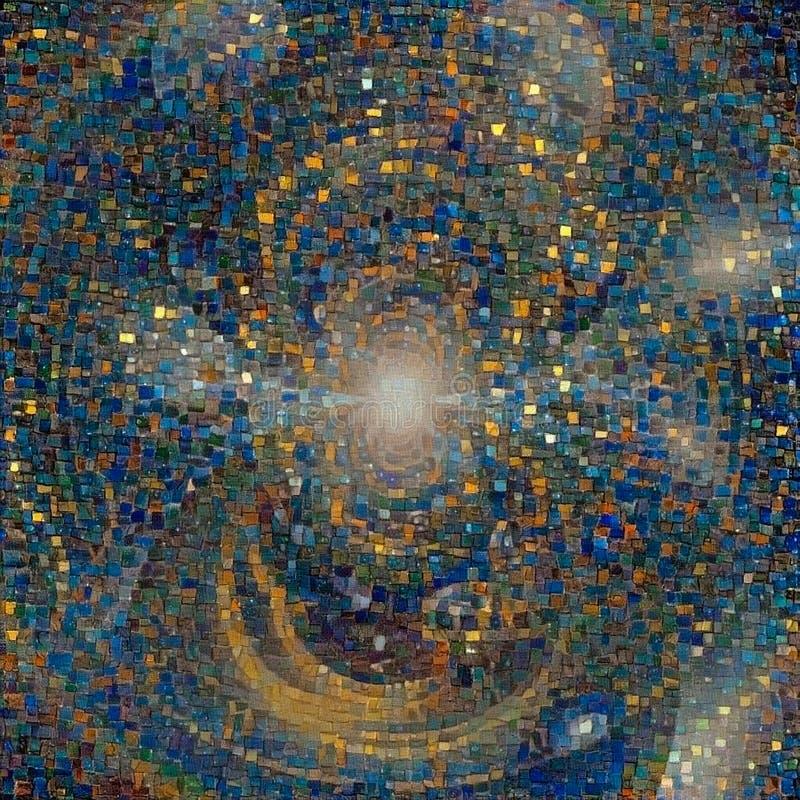 Mosaico calidoscópico ilustração stock