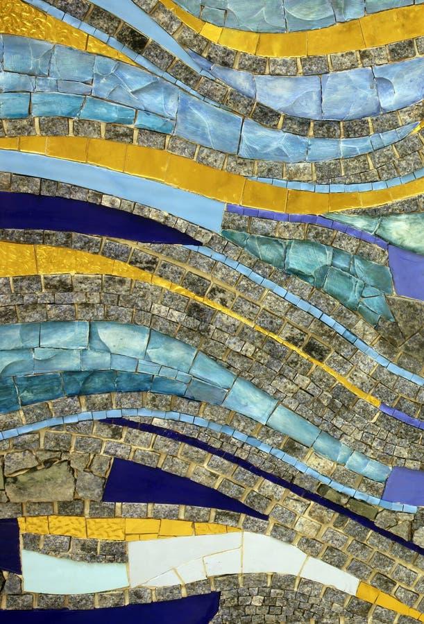 Mosaico, capilla en el monasterio de las hermanas de la caridad de St Vincent de Paul en Rijeka imágenes de archivo libres de regalías