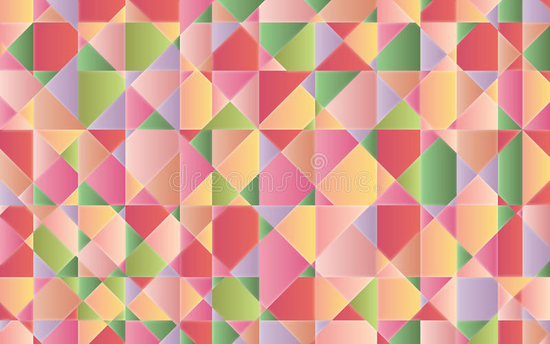 Mosaico colorido ilustração do vetor
