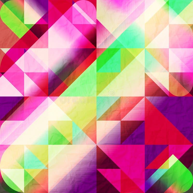 Download Mosaico colorido ilustración del vector. Ilustración de retro - 41900174