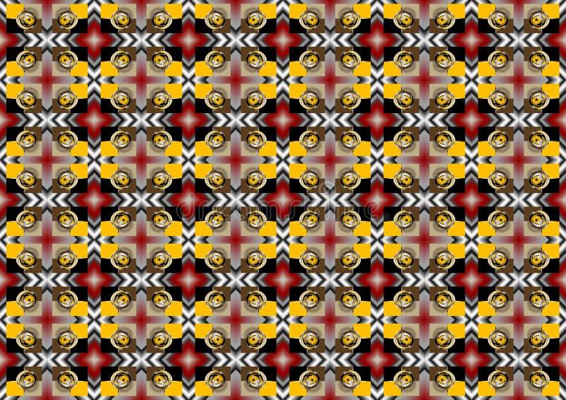 Mosaico colorido do fundo. Wallpaper.Background. ilustração do vetor