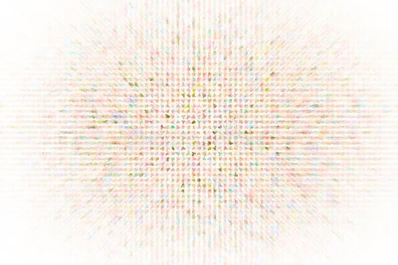 Mosaico cuadrado generativo del pixel para el papel pintado, la textura o el fondo del diseño Forma, modelo, decorativo, forma, m ilustración del vector