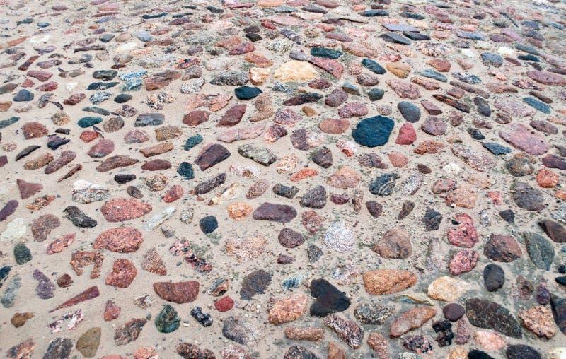 Mosaico das pedras fotografia de stock royalty free