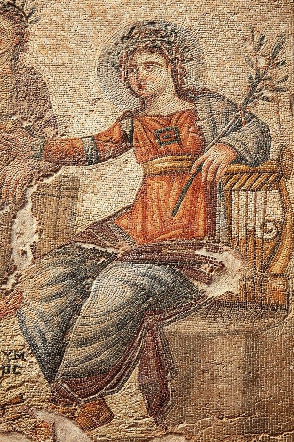 Mosaico de Apollo foto de stock