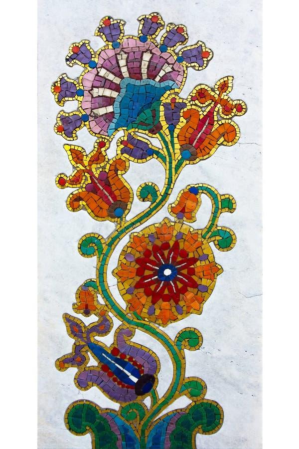 Mosaico de la flor imágenes de archivo libres de regalías