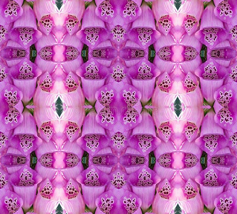 Mosaico de la flor imagen de archivo