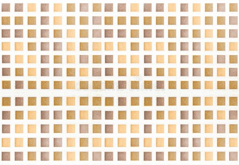 Mosaico de la teja foto de archivo libre de regalías