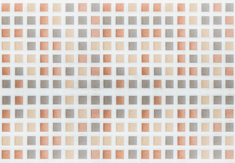 Mosaico de la teja foto de archivo