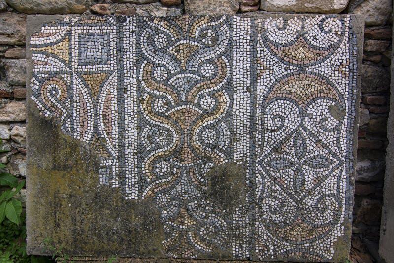 mosaico de los aphrodisias fotos de archivo