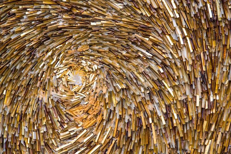 Mosaico de Partb como fondo decorativo Foco selectivo Modelo abstracto Piedras de cer?mica coloreadas extracto imagen de archivo