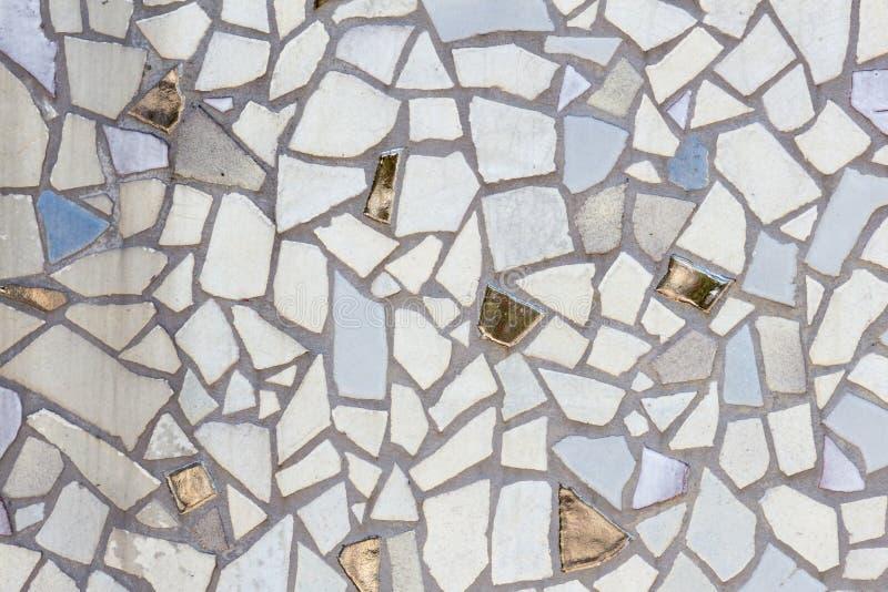 Mosaico de piedra imagen de archivo