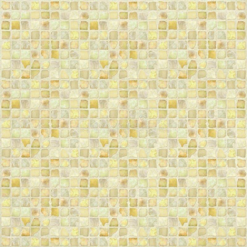 Mosaico de piedra antiguo del azulejo fotos de archivo