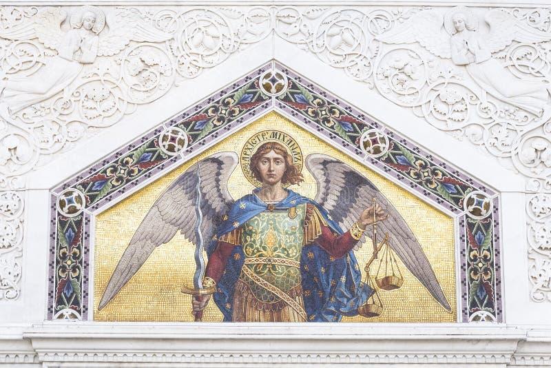 Mosaico de San Miguel foto de archivo libre de regalías