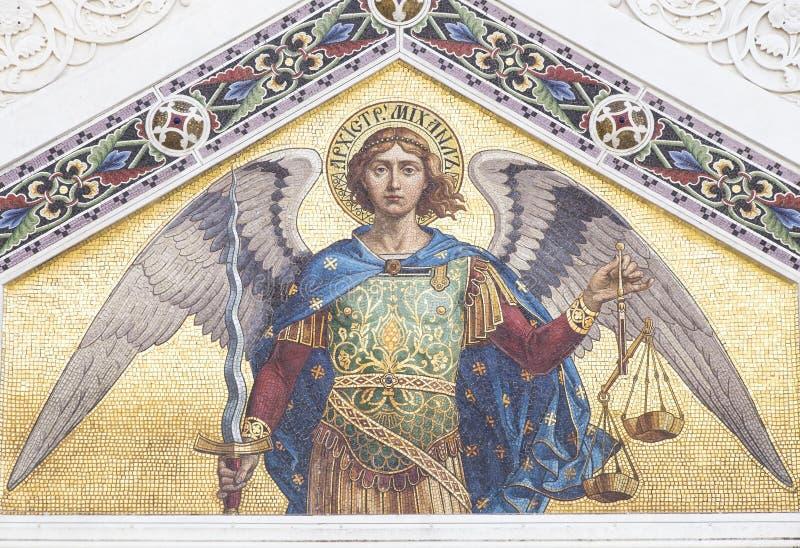 Mosaico de San Miguel imágenes de archivo libres de regalías