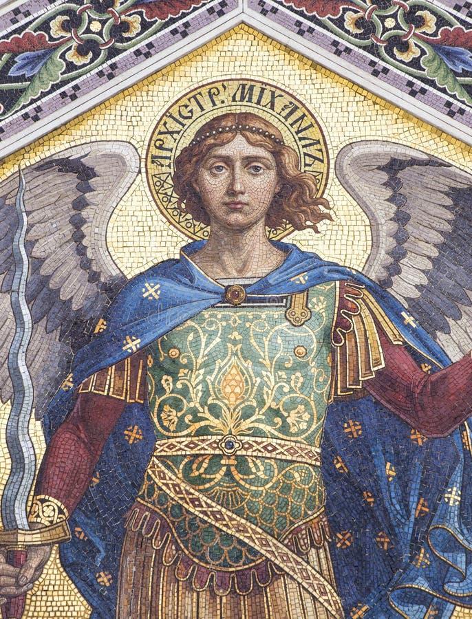 Mosaico de San Miguel fotos de archivo libres de regalías