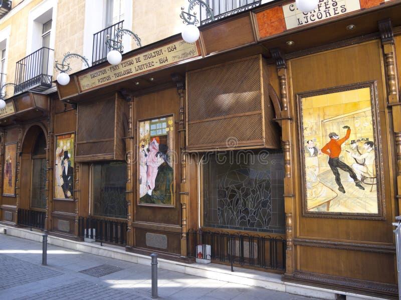 Download Barra em Madrid foto de stock editorial. Imagem de ícone - 29826098
