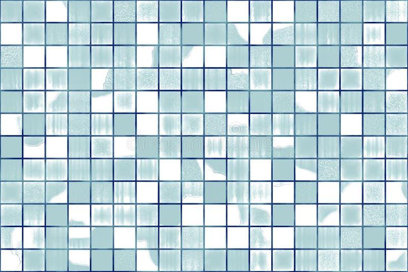 Mosaico de vidro quebrado ilustração do vetor