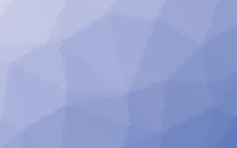 Mosaico del azul de cobalto a través del ejemplo del fondo de los ladrillos de cristal ilustración del vector