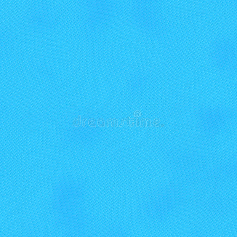 Mosaico del pixel del hexágono de Digitaces, color ciánico, azul stock de ilustración