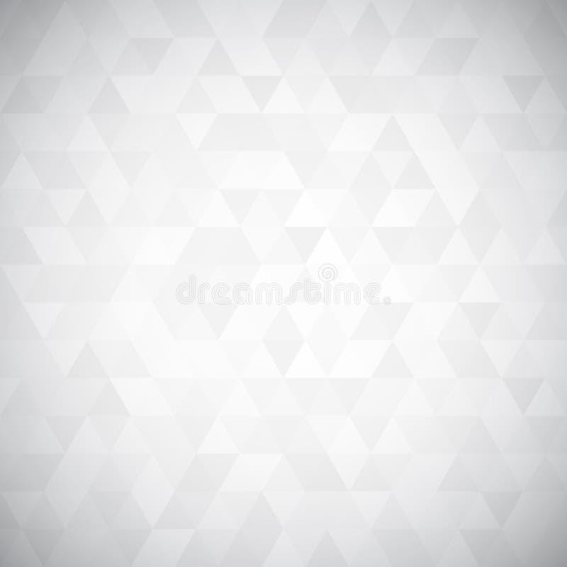 Mosaico del pixel del triángulo de Digitaces stock de ilustración