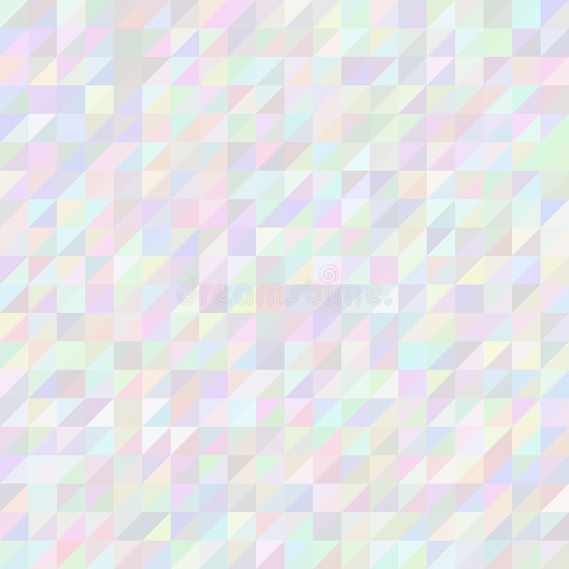 Mosaico del pixel del triángulo de Digitaces libre illustration