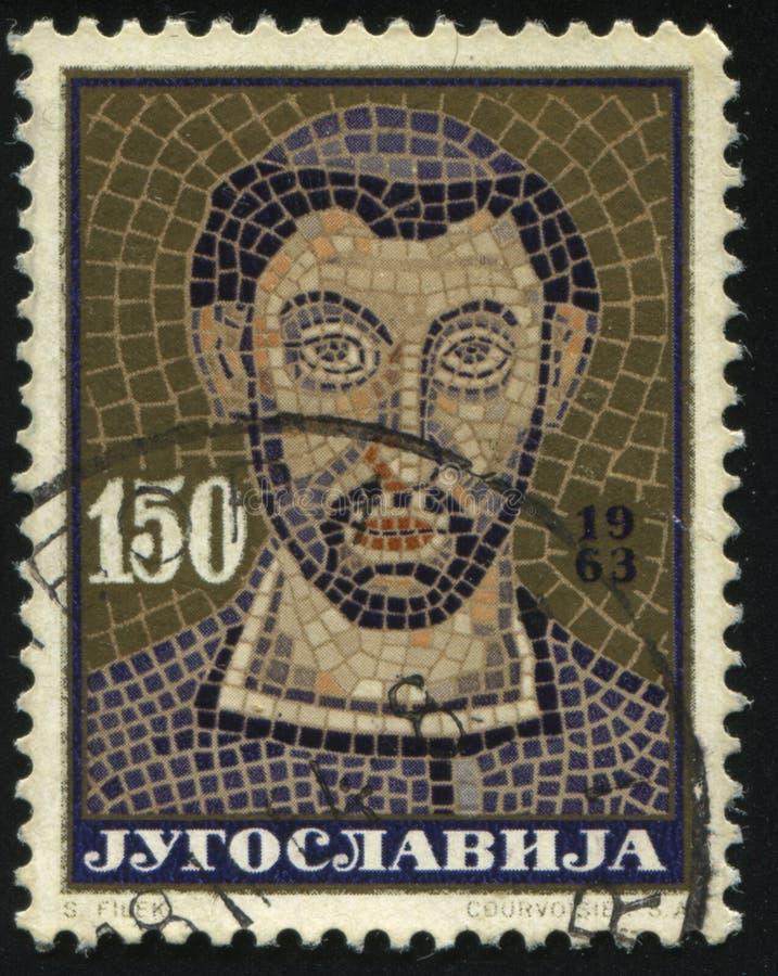 Mosaico dell'arcivescovo Eufrasie fotografie stock libere da diritti
