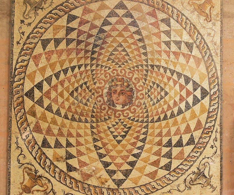 Mosaico do assoalho. foto de stock