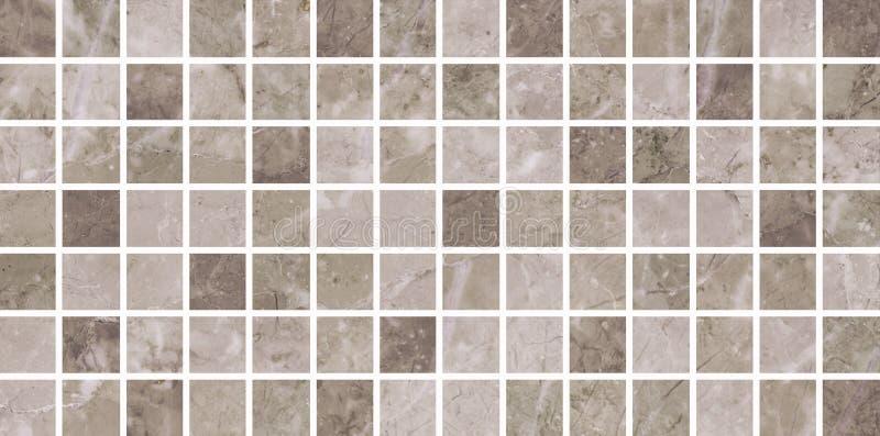 Mosaico do bege das telhas cerâmicas imagem de stock royalty free
