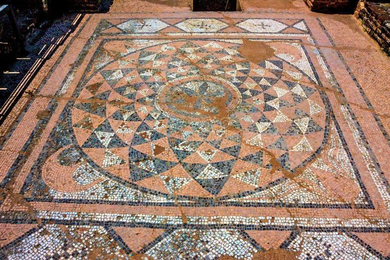 Mosaico do grego clássico imagens de stock royalty free