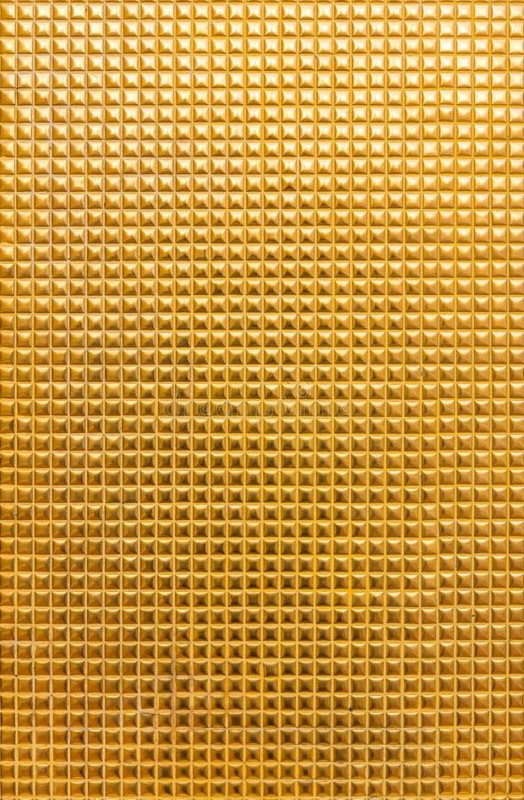 Mosaico dorato fotografia stock libera da diritti