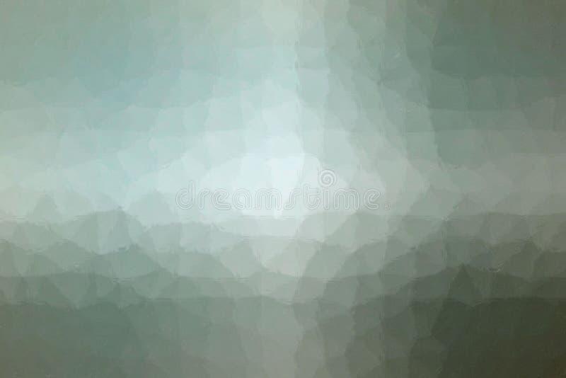 Mosaico en colores pastel de Brown, gris y verde a través del ejemplo del fondo de los ladrillos de cristal libre illustration