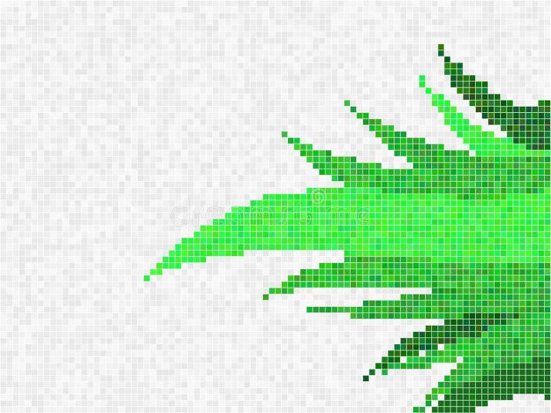 Mosaico herboso libre illustration