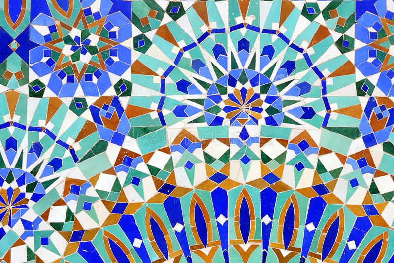 Mosaico islâmico tradicional imagem de stock royalty free