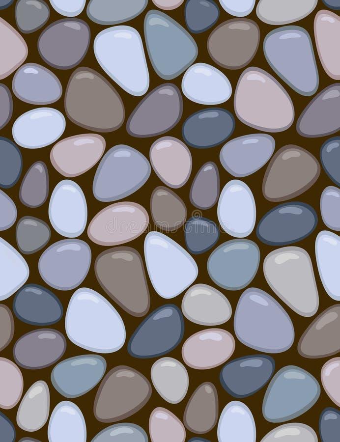 Mosaico manchado ilustração stock