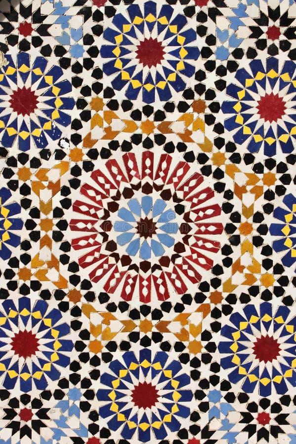 Mosaico marroquino fotos de stock royalty free